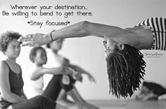 Stay Focused  Photo Title: ~ Choose Your Destination ~  {Image taken of Ashtanga Yoga Instructor, Shakira Williams, at Bromley Retreat Center in St.Ann, Jamaica - https://www.facebook.com/BromleyJamaica?fref=ts }