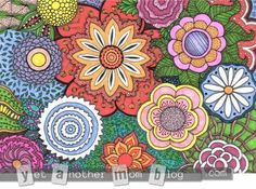 adult coloring books colored - Google Search