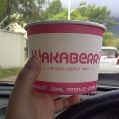 Wakaberry going for a ride!