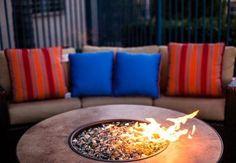 Outdoor Firepit - Picture of Fairfield Inn Santa Clarita Valencia ...