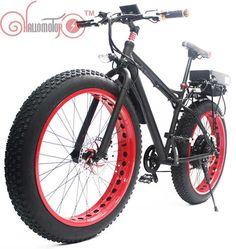 48v 500w Fat Bike Fat Tire Rear Wheel Conversion Kit Square Wave Electric Bike
