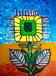"""Wild Flower"" Golden Artist Colors Acrylic on canvas Original Artwork by Graham Elvis Artistic Photography, Types Of Art, Graham, Original Artwork, Sculptures, Watercolor, The Originals, Canvas, Drawings"
