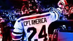 Captain America! #NYR