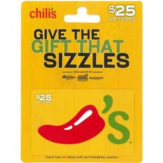 Chili's Gift Card         *** For more information, visit image link. (This is an affiliate link) #GiftCards