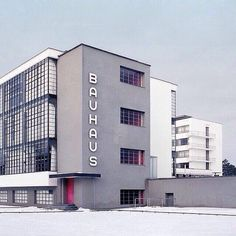 The Bauhaus was the most influential modernist art school of the century- photography, modern, structure
