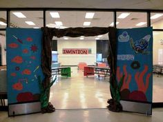"""One of our many camps that """"launched"""" this week is taking place at Pond Springs Elementary School in Austin, Texas! Check out how the camp's Director, Sheila Mulbry, prepared her site for our program.  If your child is participating in Camp Invention , leave a comment to tell us where!"""