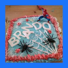 Torta Spiderman !!