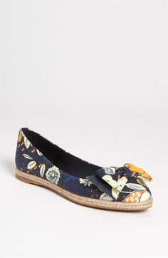 Tory Burch 'Tasmin' Flat available at #Nordstrom   cute shoe, S N do you like it?