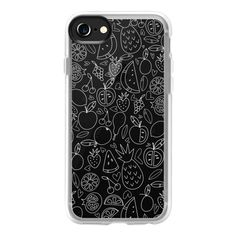 Fruit White - iPhone 7 Case And Cover ($40) ❤ liked on Polyvore featuring accessories, tech accessories, iphone case, apple iphone case, clear iphone case, iphone cover case, white iphone case and iphone cases