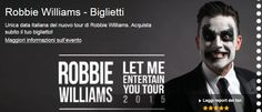 ROBBIE WILLIAMS – July 23, 2015, in Lucca