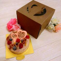バレンタインチョコケーキ  愛をお届け♡   http://item.rakuten.co.jp/quebec/valentine/