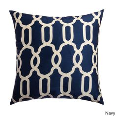 Athena Geometric 20-inch Feather and Down Filled Throw Pillow (Set of 2) | Overstock™ Shopping - Great Deals on Throw Pillows