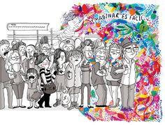 Todo empezó sentadas en una plaza en las Fiestas de Gracia de Barcelona el año pasado, de fondo se escuchaba un concurso de preguntas y resp...