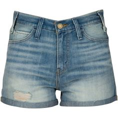 Levi's Grounded Shorts (1,125 INR) ❤ liked on Polyvore featuring shorts, bottoms, pants, tall shorts, high waisted denim shorts, highwaist shorts, levi shorts and cotton shorts