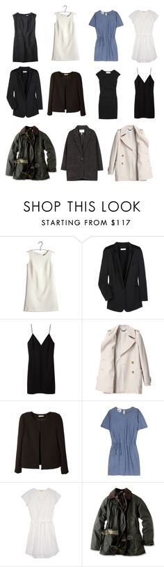 """""""Capsule Wardrobe--Coats, Jackets, and Dresses"""" by stractstyle ❤ liked on Polyvore featuring Tara Jarmon, Chloé, Margaret Howell, T By Alexander Wang, Graham & Spencer, See by Chloé, BA&SH, Acne Studios, Vanessa Bruno Athé and Barbour"""
