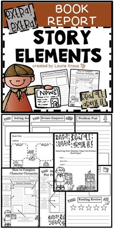 Book reports story elements