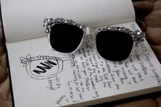 Get Glamorous with these 8 Gorgeous DIY Sunglasses