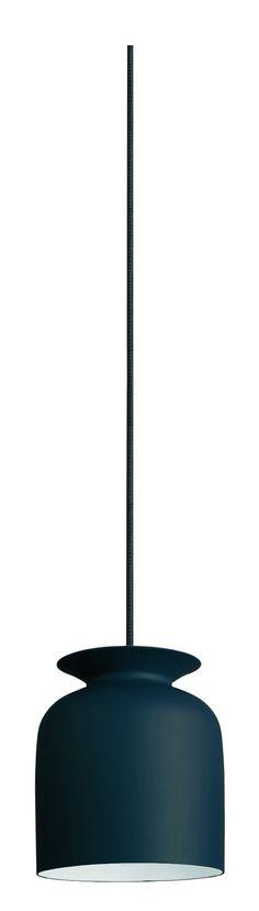 Gubi Ronde Pendant 20 cm Anthrazit-Grau