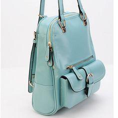 College Style Multifunction Backpack & Shoulder Bag