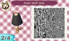Clothing [Hat and Shirt] Team Skull outfit is here!
