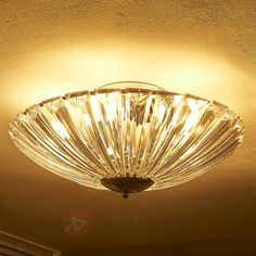 Mieniąca się lampa sufitowa Mangon bezpieczne & wygodne zakupy w sklepie internetowym Lampy.pl.