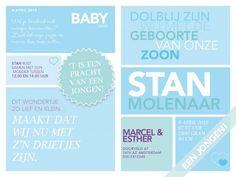 Geboortekaart Eigen Foto Orgineel Geboortekaartje Jongen Glozzy Magazine | JutenJul Design