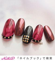秋/冬/ライブ/女子会/ハンド - GraceNailのネイルデザイン[No.3751367]|ネイルブック Japanese Nail Art, Jam And Jelly, Manicure, Gemstone Rings, Nailart, Art Ideas, Jewelry, Design, Nail Bar