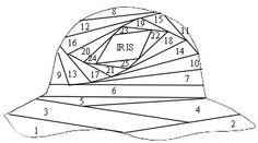 Batorba kreativ oldala - Irisz-folding - csak minta - Photo #106 of 223