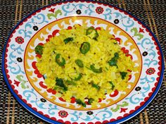 Rice and Mung Dal Pilaf- Khichdi Cook At Home, Easy Food To Make, Health Foods, Taste Buds, Ayurveda, Guacamole, Curry, Rice, Healing