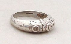 OLA GORIE STERLING SILVER ORKNEY SCOTLAND MODERNIST DESIGN RING - http://elegant.designerjewelrygalleria.com/ola-gorie/ola-gorie-sterling-silver-orkney-scotland-modernist-design-ring/