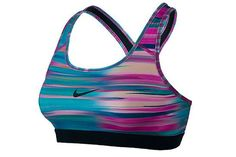 This bra's funky pattern is way too epic to confine to the gym.