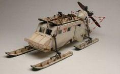 Russian NKL 16 Aerosan (1/35 model) - Military Miniatures HQ
