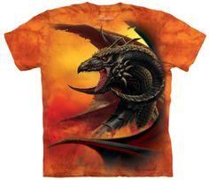 Scourge - Tee-shirt dragon - The Mountain - Tom Wood