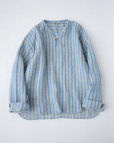 リネン先染めTシャツ Baggy Clothes, Desert Fashion, Pakistani Dress Design, Striped Linen, Muslim Fashion, Blouse Dress, Japan Fashion, Stylish Dresses, Outfit Sets