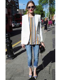 Olivia Palermo : fashion chic dans les rues de Londres