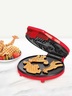 Circus Waffle Maker by Bella. Fun and cooking seem to be hand in hand these days. Cake pops and cupcakes seem to be early examples of smaller serving sizes and more playful presentation of food. With a sluggish economy, fun with food may be a positive way for people to splurge a little bit.