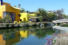 [Venice Beach canals]  ...