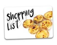 Shopping List Fridge Reminder Magnet by BetterMagnets on Etsy Funny Magnets, Rock, Etsy, Shopping, Stone, Rock Music, The Rock, Stones