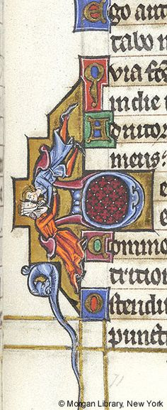 Psalter-Hours of Guiluys de Boisleux, MS M.730 fol. 71r - Images from Medieval and Renaissance Manuscripts - The Morgan Library & Museum