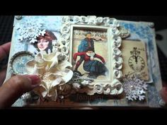 Enjoy this amazing video by @Arlene Butterflykisses sharing this amazing altered cigar box using Place in Time! Perfect for your wintery craft projects! #graphic45 #videos