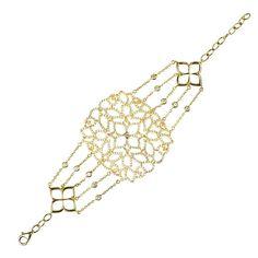 22ct Gold Vermeil Filigree Bracelet