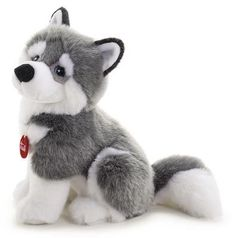 Plushie Patterns, Stuffed Toys Patterns, Husky, Ty Beanie Boos Collection, Wolf Stuffed Animal, Ocean Themed Nursery, Valentine Day Wreaths, Cute Plush, Sewing Dolls
