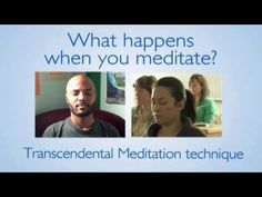 What happens when you meditate with ? Transcendental Meditation and what's it like afterwards. Click play to see, click link to learn TM® in UK: https://www.facebook.com/TM.UK.Women/app_128953167177144