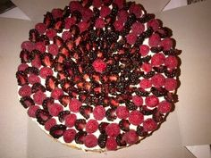 blackberry rasp cheesecake