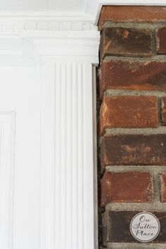 5 Easy Ways to Refresh your Front Door | Add trim to give a finished look!