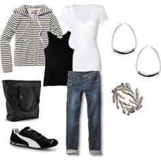 Soccer Mom, created by calyson- now I know what to wear for Gia's soccer games