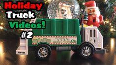Holiday Truck Videos #2 l Tonka Garbage Truck Rearloader