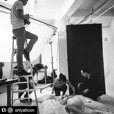 """Justin Chu on Instagram: """"Shooting from the top @onlyaticon #bts #fashion #photoshoot"""""""