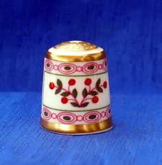 ROYAL CROWN DERBY COLLECTION THIMBLE....BRITTANY