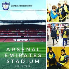 EFA's field trip to the Emirates Stadium last week. ⚽️ #WeAreEFA #TeamEFA #EFALondon #EFAcamps #EFAfieldTrips @arsenal @arsenalfcfans @arsenalfootball #EFAgoestoArsenalEmiratesStadium #YouthFootball #LondonAcademy #LondonCamps #LondonTrainingCamps #YouthFootball